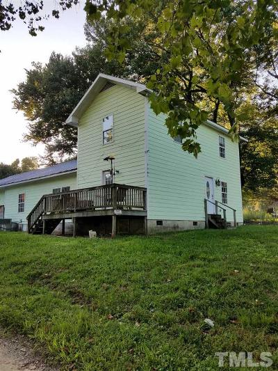 Louisburg Single Family Home Pending: 1049 West River Road