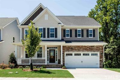 Holly Springs Single Family Home For Sale: 308 Mystwood Hollow Circle #Lot 19