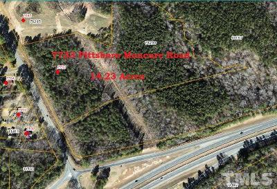 Chatham County Residential Lots & Land For Sale: 7733 Moncure Pittsboro Road