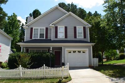 Cary Single Family Home Contingent: 110 Cricketgrass Drive