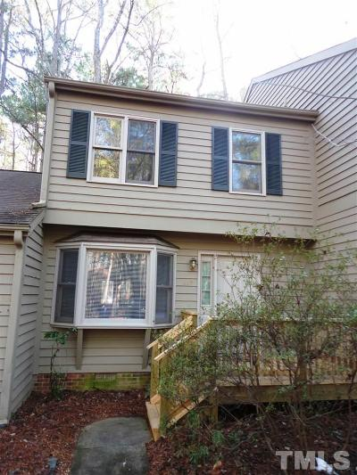 Carrboro Townhouse For Sale: 402 Forest Court