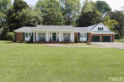 Angier Single Family Home Pending: 49 S Pleasant Street