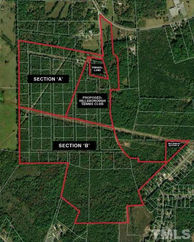 Orange County Residential Lots & Land For Sale: Old Cedar Grove Road