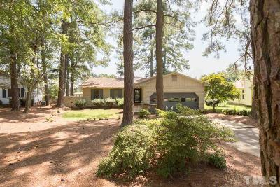 Wake County Single Family Home Contingent: 2344 Ravenhill Drive