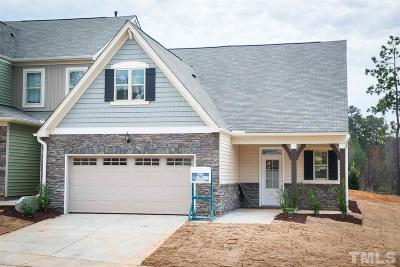 Wake Forest Townhouse For Sale: 554 Brunello Drive #64