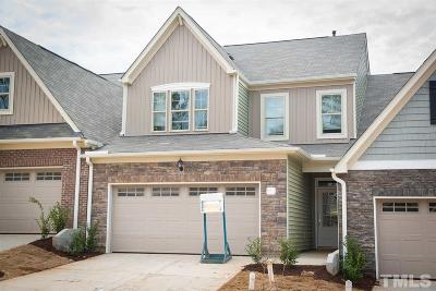 Wake Forest Townhouse For Sale: 556 Brunello Drive #63