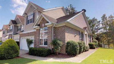 Morrisville Townhouse For Sale: 500 Meeting Hall Drive