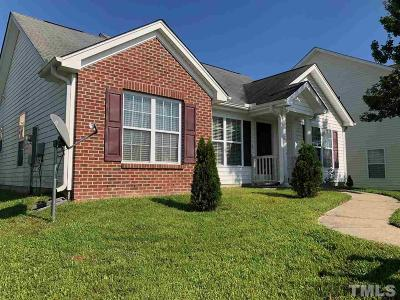 Knightdale Single Family Home Contingent: 1017 Tellis Drive