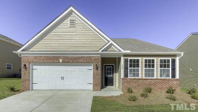Zebulon Single Family Home Pending: 1013 Milkweed Court