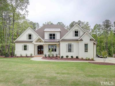 Wake Forest Single Family Home For Sale: 2024 Pleasant Forest Way