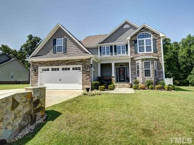 Clayton Single Family Home For Sale: 33 Summerglow Court