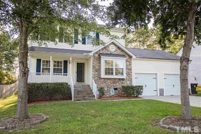 Knightdale Single Family Home Contingent: 204 Mingocrest Drive