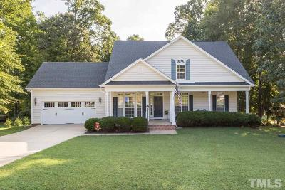 Garner Single Family Home Contingent: 1239 Magnolia Hill Road