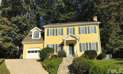 Cary Single Family Home For Sale: 106 Keeton Lane