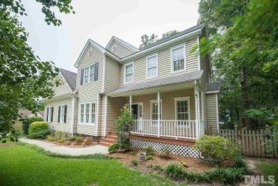 Holly Springs Single Family Home Contingent: 201 High Maple Court