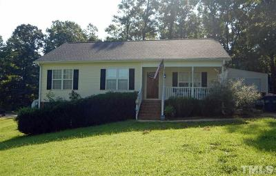 Fuquay Varina Single Family Home Contingent: 416 Creekbluffs Drive