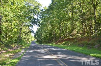 Granville County Residential Lots & Land For Sale: Aaron Creek Church Road