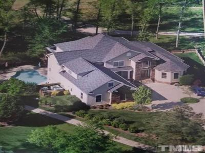 The Preserve At Jordan Lake Single Family Home For Sale: 850 Bear Tree Creek