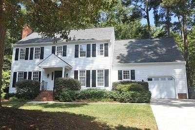 Raleigh Single Family Home Contingent: 8112 Morgans Way