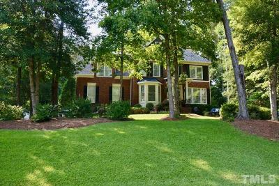 Holly Springs Single Family Home Contingent: 6232 Hilbert Ridge Drive