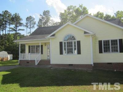Creedmoor Single Family Home Pending: 1578 Rogers Pointe Lane