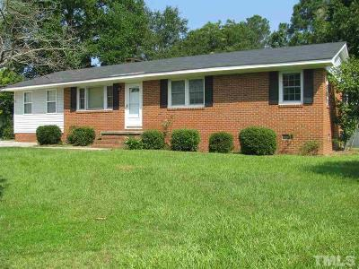 Dunn NC Single Family Home For Sale: $143,000