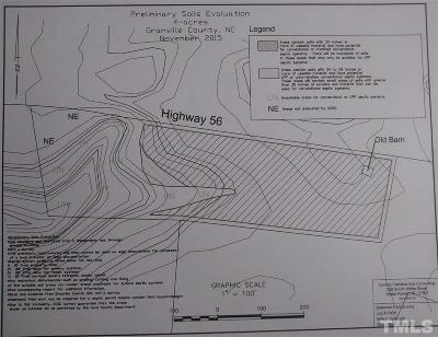 Granville County Residential Lots & Land For Sale: Nc 56 Highway
