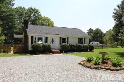 Apex Single Family Home For Sale: 9117 Holly Springs Road