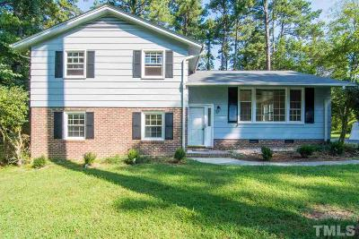 Chapel Hill Single Family Home For Sale: 1303 Cypress Road