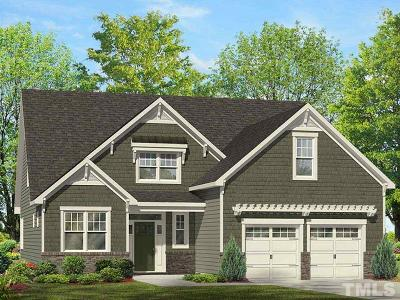 Knightdale Single Family Home For Sale: 619 Heartland Flyer Drive #Lot 54