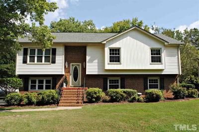Apex Single Family Home Contingent: 1400 Laura Duncan Road