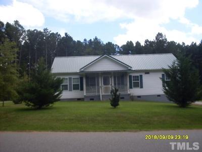 Louisburg Single Family Home For Sale: 120 Ottawa Drive