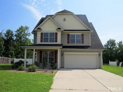Harnett County Single Family Home For Sale: 321 Colonist Place