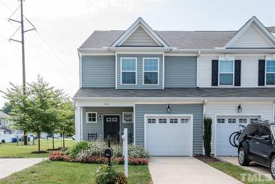 Wake County Townhouse For Sale: 941 Consortium Drive