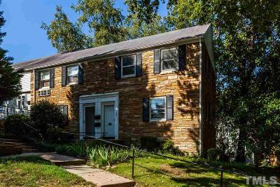 Raleigh Condo For Sale: 981 St Marys Street