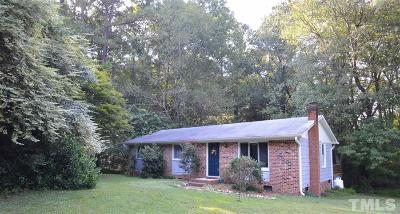 Chapel Hill Single Family Home For Sale: 8909 Bethel Hickory Grove Church Road