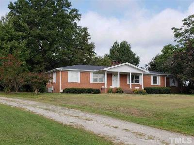 Wendell Single Family Home For Sale: 4100 Rolesville Road