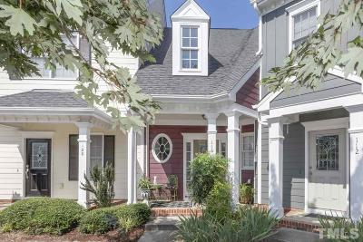 Apex Townhouse Contingent: 116 Old Grove Lane