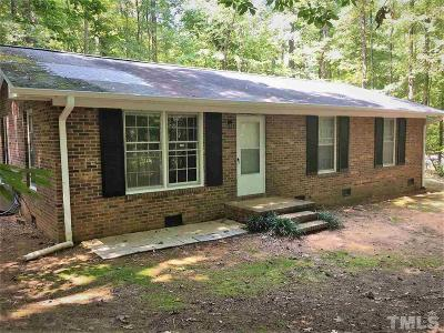 Chapel Hill Single Family Home Contingent: 2705 Whitfield Road
