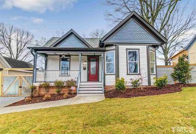 Durham Single Family Home For Sale: 710 Eva Street