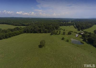 Chatham County Residential Lots & Land Contingent: 929 Arthur Teague Road