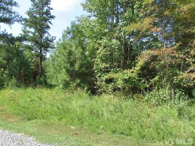 Siler City NC Residential Lots & Land For Sale: $61,000