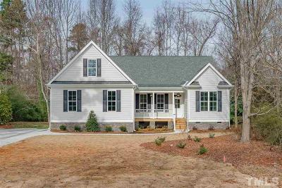 Raleigh Single Family Home For Sale: 3911 Sue Lane
