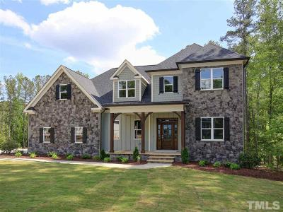 Wake Forest Single Family Home For Sale: 2020 Pleasant Forest Way