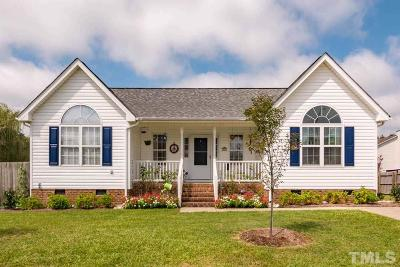 Angier Single Family Home Contingent: 30 Courtland Drive