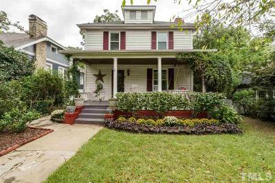 Raleigh Single Family Home For Sale: 1104 Glenwood Avenue
