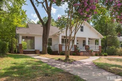 Durham Single Family Home Contingent: 2305 Chapel Hill Road