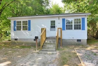 Single Family Home For Sale: 433 John Street