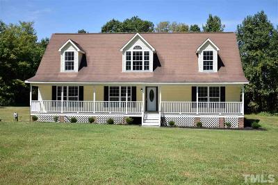 Youngsville Single Family Home For Sale: 1842 Long Mill Road