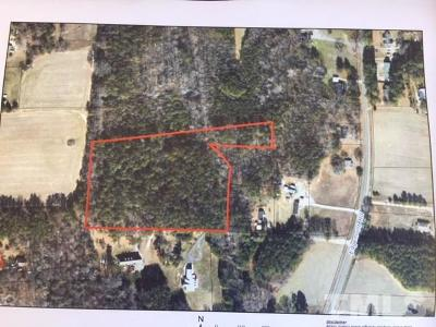 Wendell Residential Lots & Land For Sale: 3919 Edgemont Road